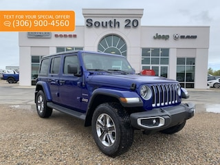 2019 Jeep Wrangler Unlimited Sahara SUV 1C4HJXEN5KW686131 for sale in Humboldt, SK