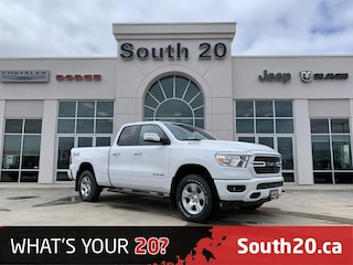 2020 Ram 1500 Big Horn Truck Quad Cab 1C6SRFBTXLN253141 for sale in Humboldt, SK