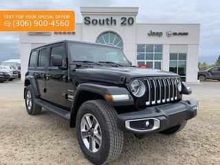 2019 Jeep Wrangler Unlimited Sahara SUV 1C4HJXEN9KW689212 for sale in Humboldt, SK