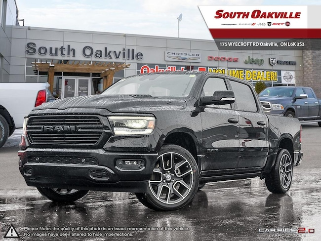 2019 Ram All-New 1500 Sport | ADV SAFETY GRP | HEATED & VENTED LEATHER Truck Crew Cab