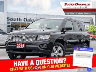 2016 Jeep Compass North|HTD LTHR |RR CAMERA |SIRIUSXM  SUV