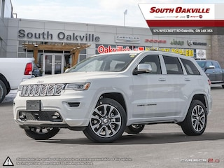 2018 Jeep Grand Cherokee Overland | DIESEL | DUAL SUNROOF | VENTED NAPPA SUV
