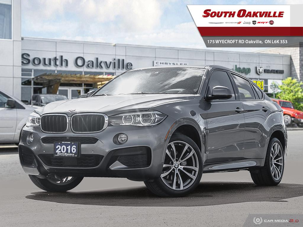 2016 BMW X6 xDrive35i | HEATED LEATHER | NAV | SUNROOF  SAV