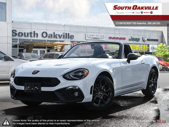 2019 FIAT 124 Spider Abarth   LEATHER   NAVIGATION & SOUND GROUP Convertible