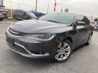 2015 Chrysler 200 LIMITED | HEATED SEATS | NAV | NO ACCIDENTS | SUNROOF Sedan