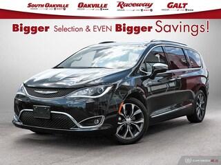 2017 Chrysler Pacifica Limiited|BTOOTH|HTD & VENT LTHR|NAV|SUNROOF Van Passenger Van
