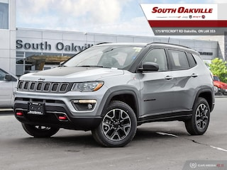 2019 Jeep Compass Trailhawk | DUAL SUNROOF | HEATED LEATHER | NAV SUV