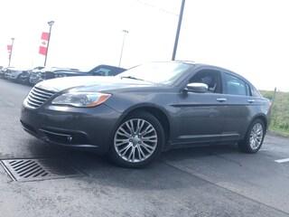 2014 Chrysler 200 Limited|BTOOTH|HTD LTHR|SIRIUSXM|SUNROOF Sedan
