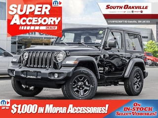 2018 Jeep All-New Wrangler Sport|GREAT LEASE OPTIONS|HARD TOP|SIRIUSXM SUV