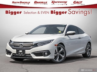 2018 Honda Civic Touring Btooth HTD Lthr NAV Sunroof Coupe