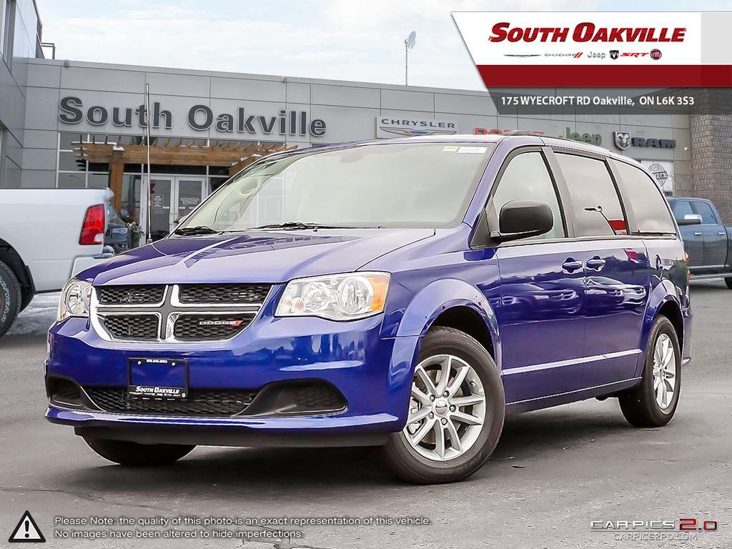 2019 Dodge Grand Caravan SXT Plus   BLUETOOTH HANDSFREE   DVD PLAYER Van
