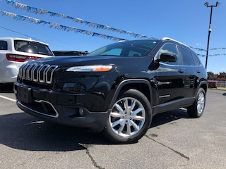 2017 Jeep Cherokee Limited | 4X4 | DUAL SUNROOF | NAVIGATION | VENTED SUV