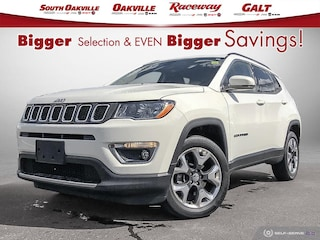 2019 Jeep Compass Limited | 4X4 | FCA CO CAR | HEATED LEATHER | LOW KMS | PARK CAMERA SUV