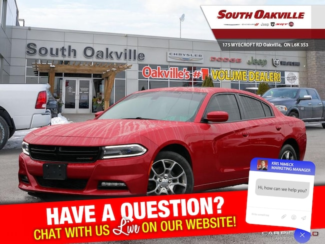 2016 Dodge Charger SXT | AWD | HEATED SEATS | NAV | SUNROOF Sedan