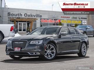 2018 Chrysler 300 C | DUAL SUNROOF | HTD & VTD LEATHER | NAV Sedan