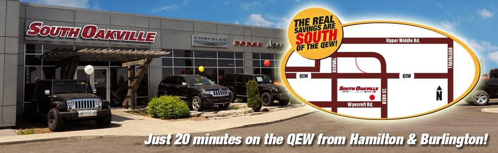 Chrysler Dodge Jeep RAM dealership in Oakville | South ...