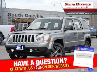 2016 Jeep Patriot Sport|CRUISE CTRLS|HTD LTHR| SIRIUSXM SUV