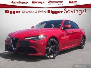 2018 Alfa Romeo Giulia  Ti SPORT | DRIVER ASSIST PLUS PACKAGE | PANO ROOF | HARMAN KARDON | COMPANY CAR | Sedan