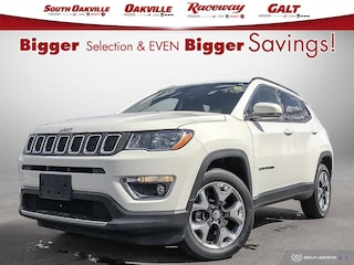 2019 Jeep Compass Limited | 4X4 | HEATED LEATHER | PARK CAMERA SUV