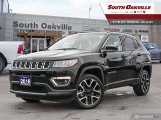 2018 Jeep Compass LIMITED | NAV | HEATED SEATS | 4X4 | SUV