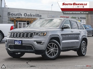 2017 Jeep Grand Cherokee Limited | BLUETOOTH | HEATED LEATHER | REAR CAM SUV