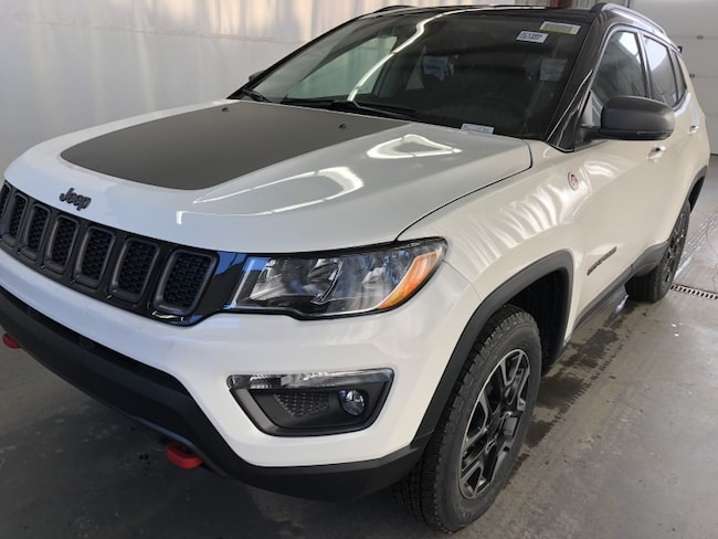 New 2019 Jeep Compass Trailhawk Sport Utility JC1909 in Red Deer, AB