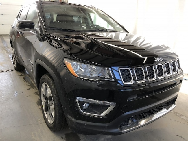New 2019 Jeep Compass Limited SUV JC1907 in Red Deer, AB