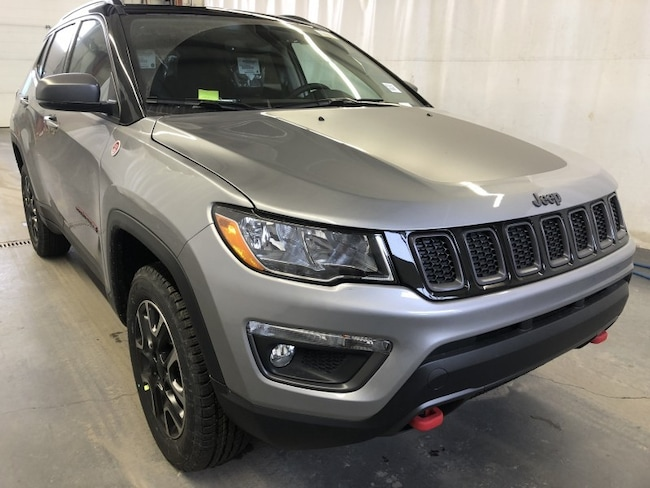 New 2019 Jeep Compass Trailhawk SUV JC1915 in Red Deer, AB