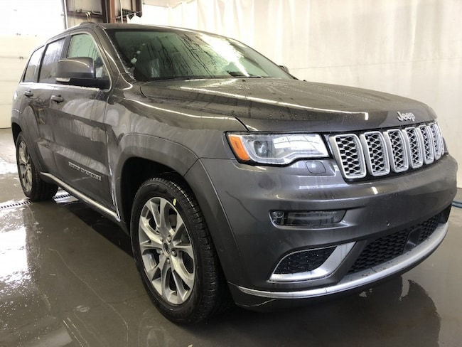 New 2019 Jeep Grand Cherokee Summit Sport Utility GC1912 in Red Deer, AB