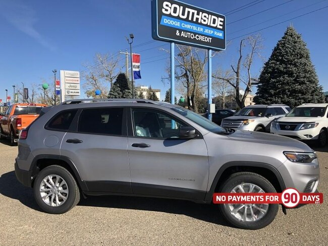 New 2019 Jeep Cherokee Sport Sport Utility CE1969 in Red Deer, AB