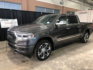 New 2019 Ram All-New 1500 Limited Truck Crew Cab W19258 1C6SRFHT0KN746607 in Red Deer, AB