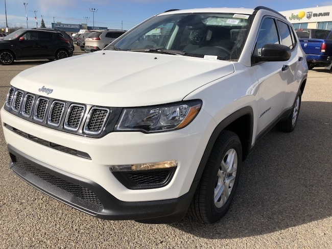 New 2019 Jeep Compass Sport Sport Utility JC1901 in Red Deer, AB
