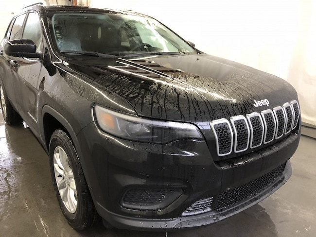 New 2019 Jeep New Cherokee Sport SUV CE1963 in Red Deer, AB