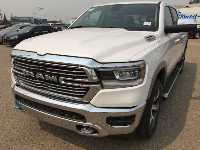 New 2019 Ram All-New 1500 Laramie Truck Crew Cab W1955 in Red Deer, AB