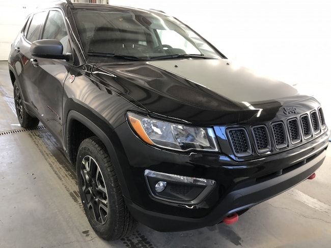 New 2019 Jeep Compass Trailhawk SUV JC1910 in Red Deer, AB
