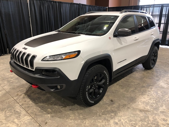2018 Jeep Cherokee Trailhawk 4x4 W/Leather, 1 Owner Trailhawk Leather Plus Sport Utility