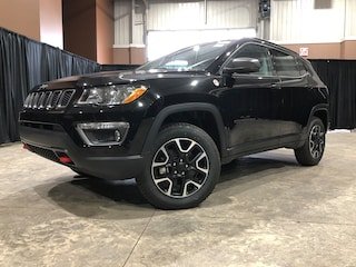 New 2020 Jeep Compass Trailhawk - Leather Seats SUV JC2001 3C4NJDDB4LT104715 in Red Deer, AB