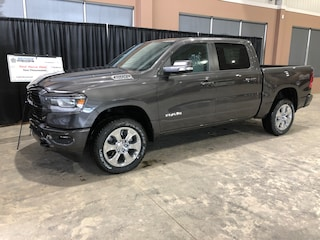 New 2019 Ram All-New 1500 Big Horn Truck Crew Cab W19277 1C6SRFFT3KN848308 in Red Deer, AB