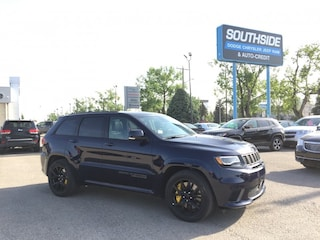 New 2018 Jeep Grand Cherokee Trackhawk Sport Utility GC1890 in Red Deer, AB