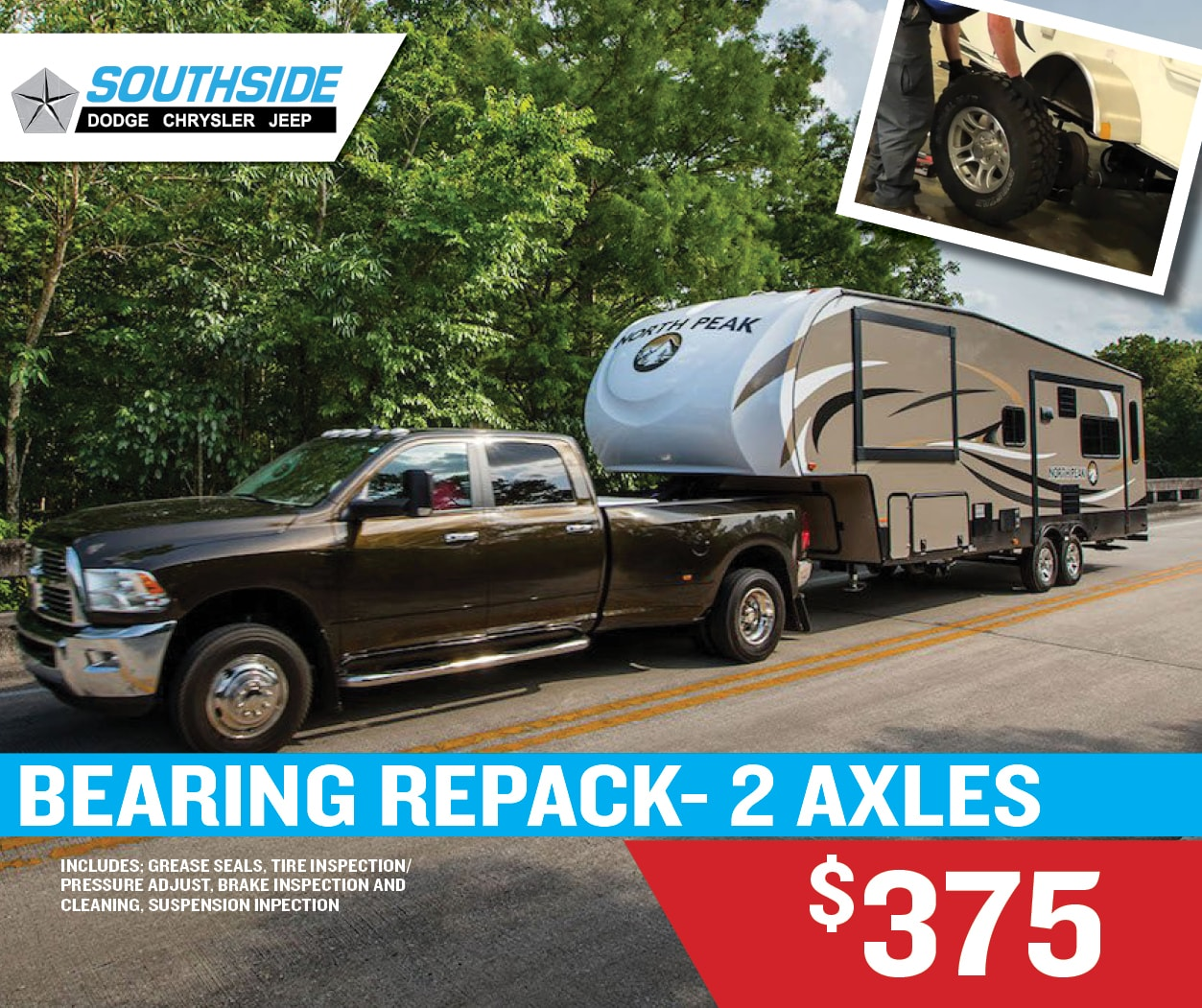 RV Parts and Service | Southside Dodge Chrysler