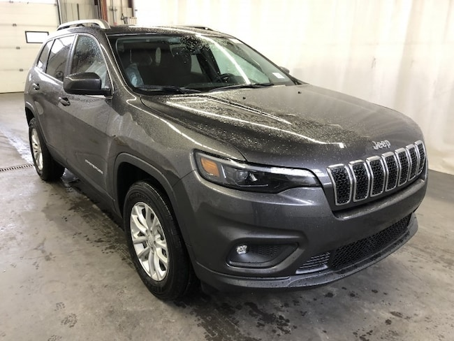 New 2019 Jeep New Cherokee North SUV CE1953 in Red Deer, AB