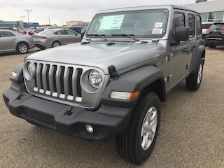 New 2018 Jeep All-New Wrangler Unlimited Sport S SUV WR1894 1C4HJXDN3JW135034 in Red Deer, AB
