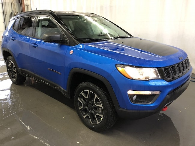 New 2019 Jeep Compass Trailhawk SUV JC1908 in Red Deer, AB