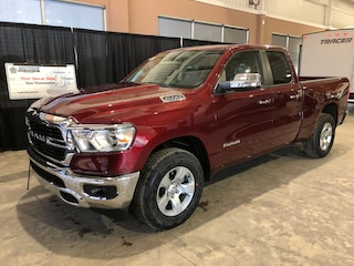 New 2019 Ram All-New 1500 Big Horn Truck Quad Cab W19254 1C6SRFBT7KN829749 in Red Deer, AB