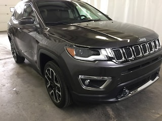 New 2018 Jeep Compass Limited Sport Utility JC1872 in Red Deer, AB