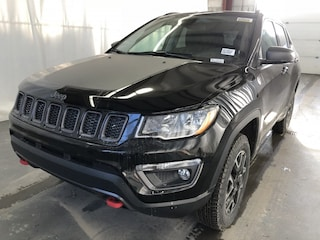 New 2019 Jeep Compass Trailhawk SUV JC1912 3C4NJDDB9KT661649 in Red Deer, AB