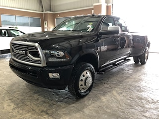 New 2018 Ram 3500 Limited Tungsten Edition Truck Crew Cab WD18254 3C63RRKL4JG318741 in Red Deer, AB