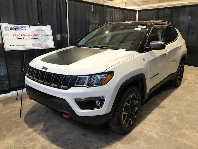 New 2019 Jeep Compass Trailhawk SUV JC1918 in Red Deer, AB