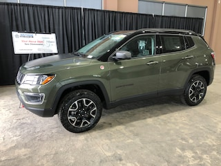 New 2019 Jeep Compass Trailhawk SUV JC1924 3C4NJDDB8KT772127 in Red Deer, AB