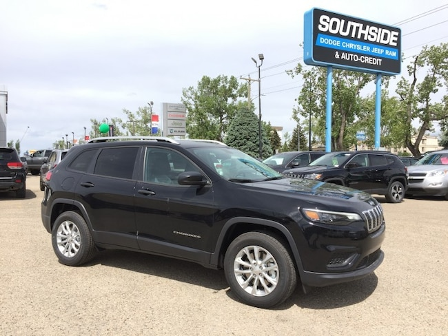 New 2019 Jeep New Cherokee Sport SUV CE1932 in Red Deer, AB